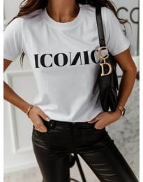T-shirts - kod 996 - 1 - white