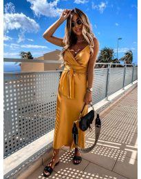 Dresses - kod 547 - mustard