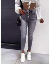 Jeans - kod 4215 - 1 - gray
