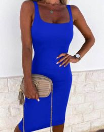 Dresses - kod 8899 - blue