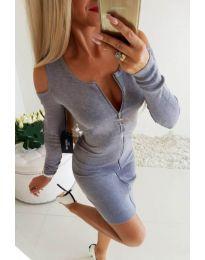 Dresses - kod 2848 - gray