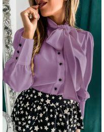 Shirts - kod 971 - purple