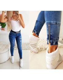 Jeans - kod 3531 - sky blue