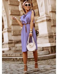 Dresses - kod 7045 - purple