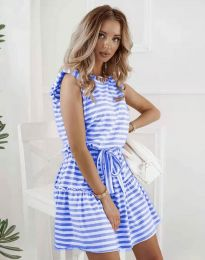 Dresses - kod 7211 - blue