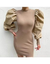 Dresses - kod 3561 - beige