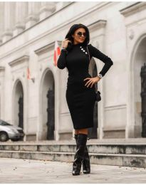 Dresses - kod 7099 - 1 - black