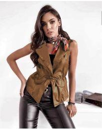 Waistcoats - kod 4106 - brown