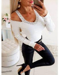 Blouses - kod 3488 - white