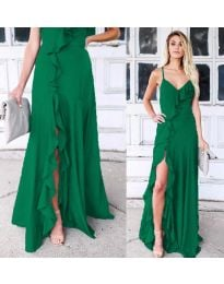 Dresses - kod 4488 - green