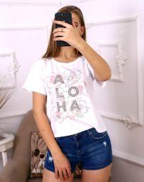 T-shirts - kod 3542 - white