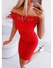 Dresses - kod 3105 - red
