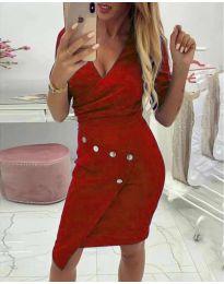 Dresses - kod 415 - red