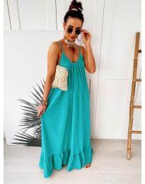 Dresses - kod 2218 - turquoise