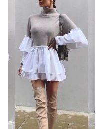 Dresses - kod 1188 - beige
