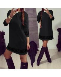 Dresses - kod 345 - black