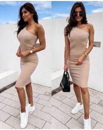 Dresses - kod 0208 - beige