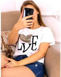 T-shirts - kod 3552 - white