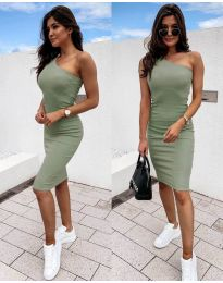Dresses - kod 0208 - army green