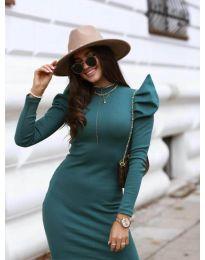 Dresses - kod 1504 - 2 - dark green