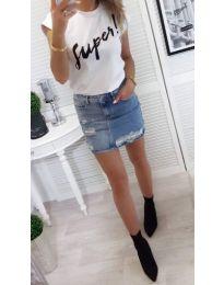 T-shirts - kod 804 - 1 - white