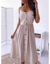 Dresses - kod 5057 - beige