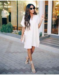 Dresses - kod 163 - white