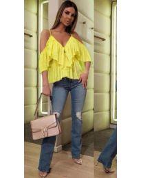 Blouses - kod 468 - yellow
