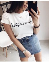 T-shirts - kod 978 - white