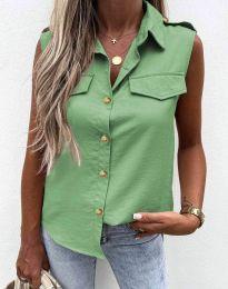 Shirts - kod 6598 - green