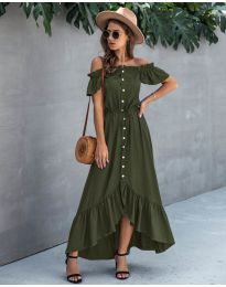 Dresses - kod 564 - army green