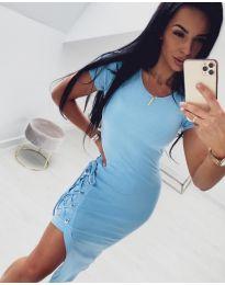 Dresses - kod 059 - light blue