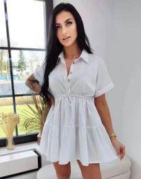 Dresses - kod 8889 - white