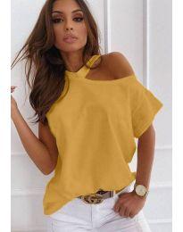 T-shirts - kod 0599 - 6 - mustard