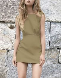 Dresses - kod 1233 - cappuccino