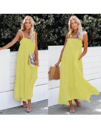 Dresses - kod 551 - yellow