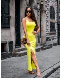 Dresses - kod 821 - yellow