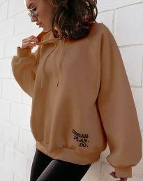 Blouses - kod 4229 - brown
