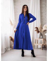 Dresses - kod 1544 - dark blue