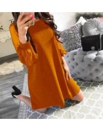 Dresses - kod 857 - mustard
