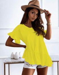 T-shirts - kod 0317 - yellow