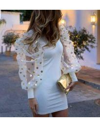 Dresses - kod 3556 - white