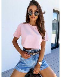T-shirts - kod 608 - pink