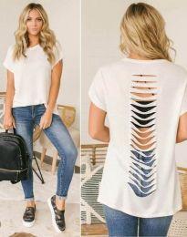 T-shirts - kod 1836 - 1 - white