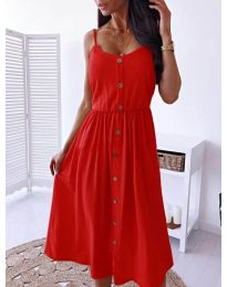 Dresses - kod 5057 - red