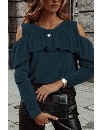 Blouses - kod 4111 - turquoise