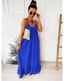 Dresses - kod 2218 - sky blue