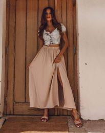 Skirts - kod 8231 - cappuccino
