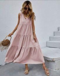 Dresses - kod 8149 - pink
