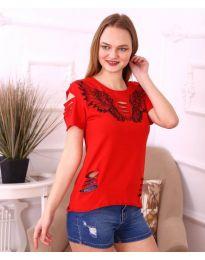 T-shirts - kod 3568 - red